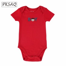 PKSAQ 2017 newborn Fashion Boy Girl Cartoon Animal 0-12M Jumpsuit Body next Suit Baby Clothes Romper 15103