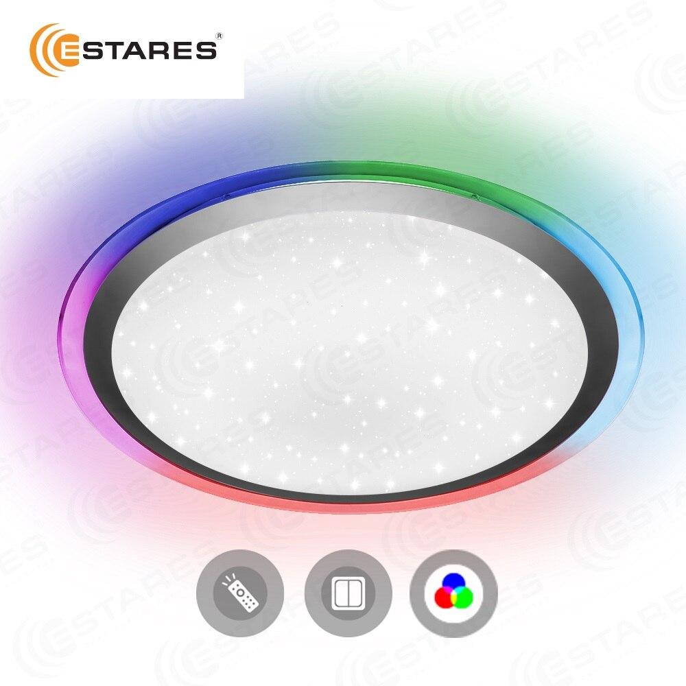 Estares Управляемый светодиодный светильник ARION 60W RGB R-535-SHINY-220V-IP44 (новый размер)