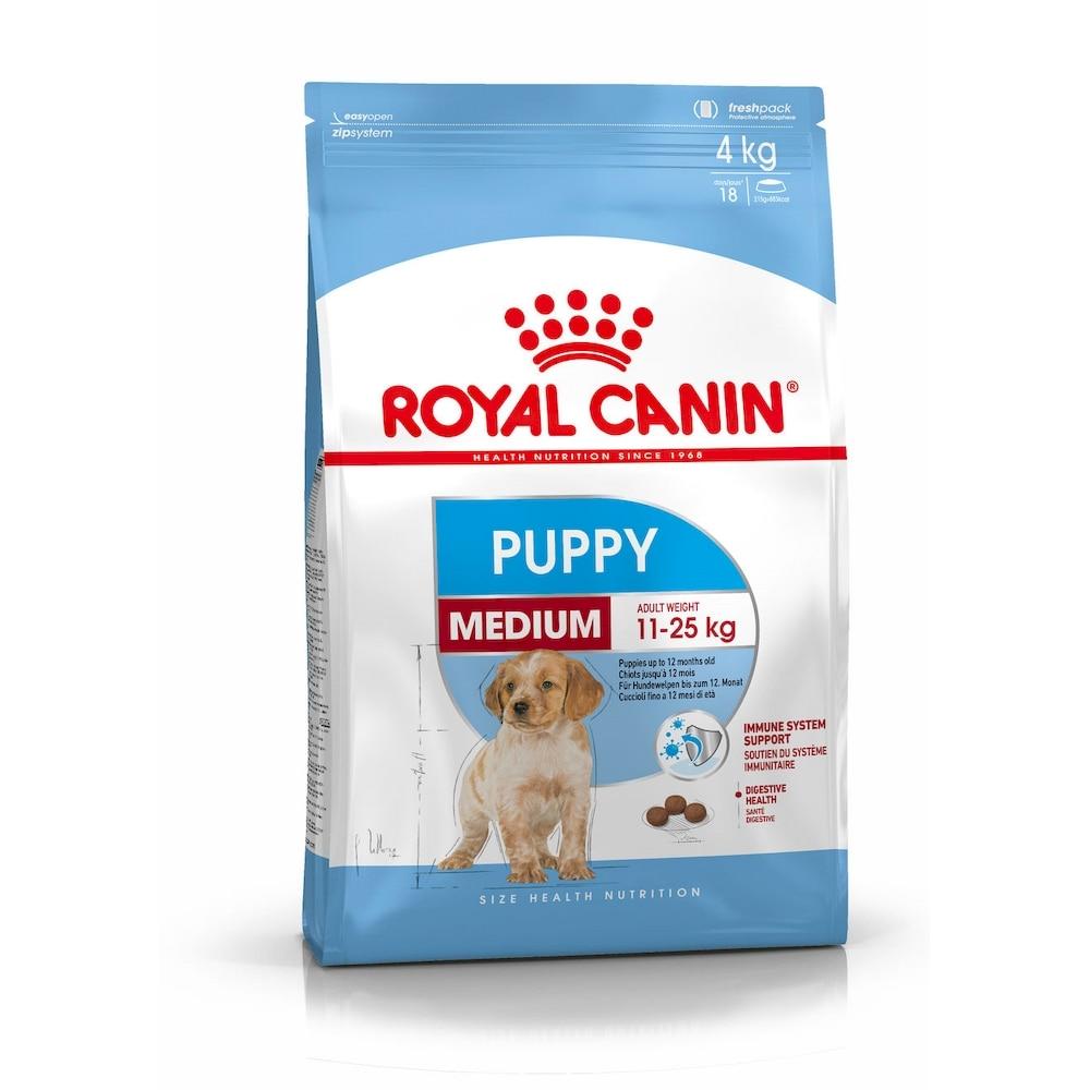 Puppy Food Royal Canin Medium Puppy, 15 kg