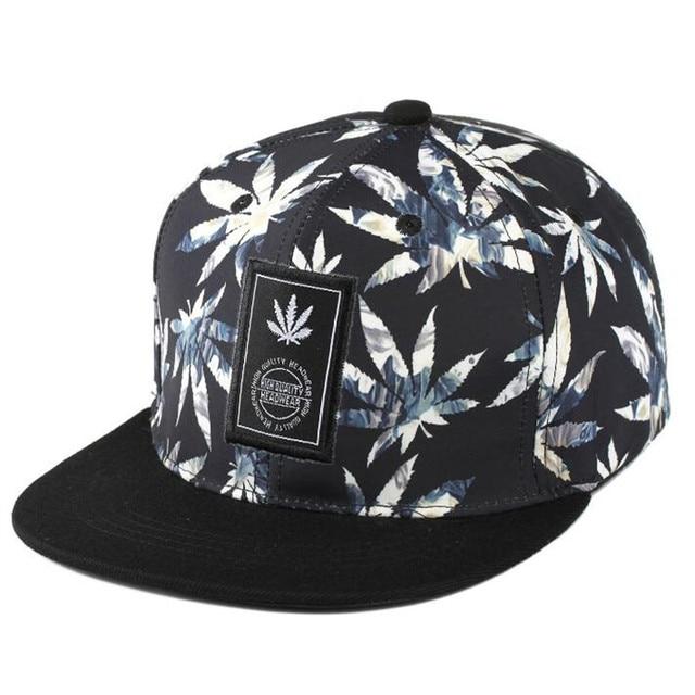 Weed Snapback Hip Hop Topi Baseball Saya Gorras Tulang CINTA Haters Untuk  Pria Wanita Tulang Aba aa17754fc7