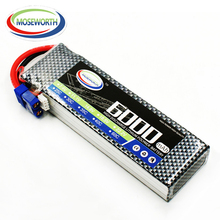 цены MOSEWORTH 3S RC Lipo Battery 11.1v 40C 6000mAh For RC Aircraft Drones Quadcopter Car Boat Airplane Helicopter AKKU 3S Li-polymer
