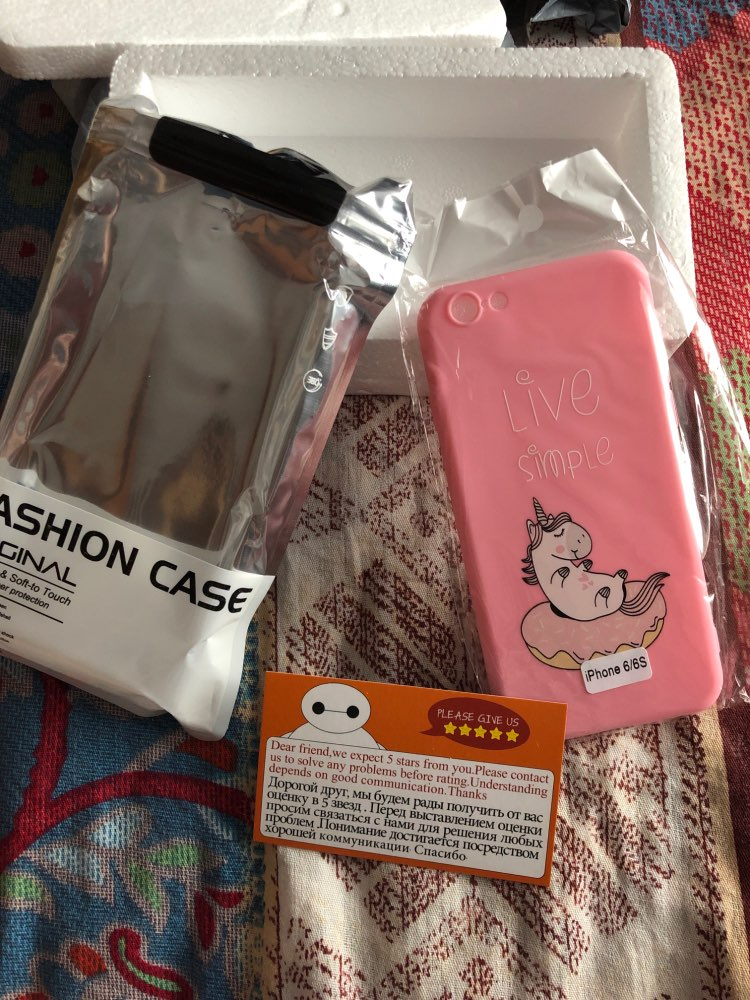Fashion Unicorn Pink Soft Silicone Phone Case For iPhone photo review