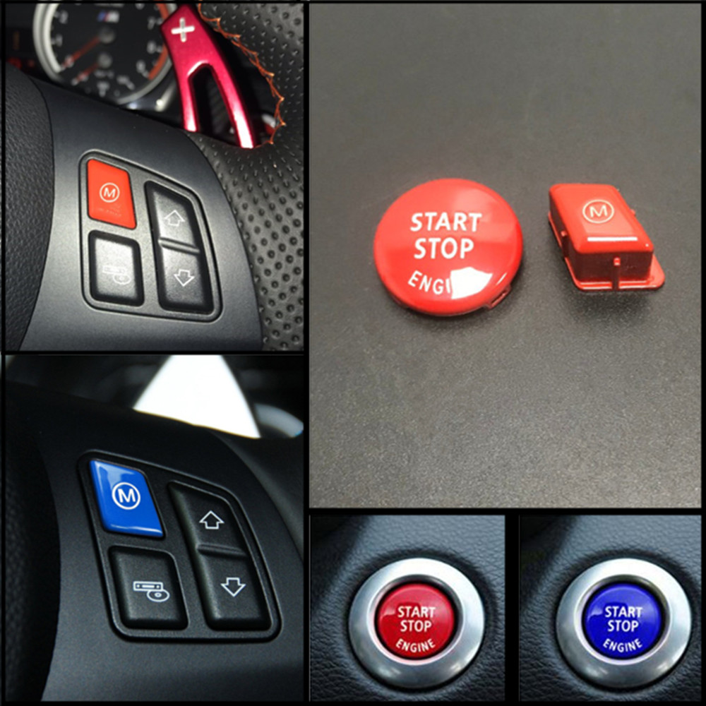 Red Sports Steering Wheel M Model Button For BMW 3 Series E90 E92 E93 M3 2007-2013 Car Accessories ReplacementRed Sports Steering Wheel M Model Button For BMW 3 Series E90 E92 E93 M3 2007-2013 Car Accessories Replacement