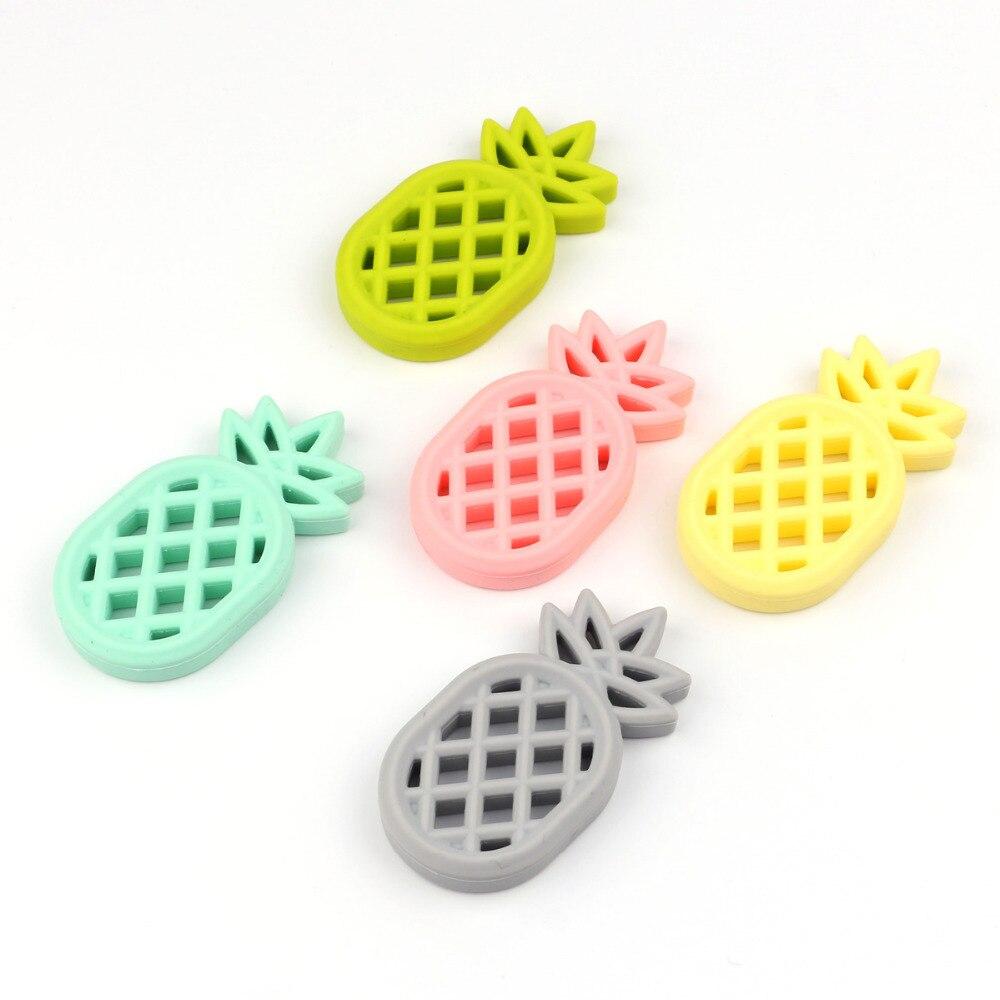 TYRY.HU Pineapple Formuar Foshnje Teethers 1Pc BPA Falas Lodra për - Kujdesi për foshnjen - Foto 3