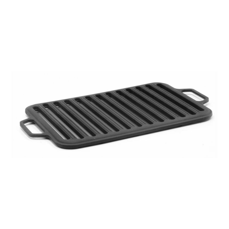 Grill  Non-stick Triple Fish Grilling Basket w/ Wood Handle Barbecue Tool  Grill Net Outdoor Grilling Fish Rack BBQ latin grilling