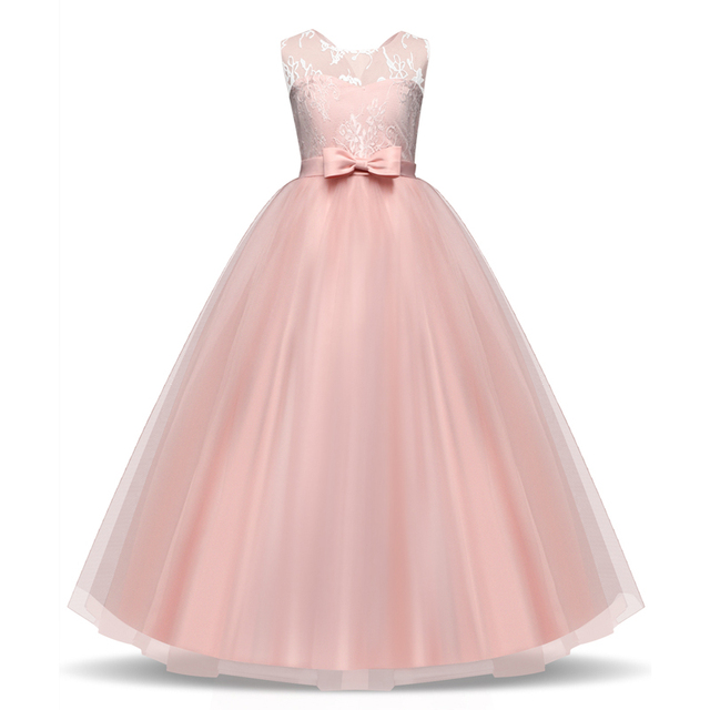 New 2018 Winter Girls Clothes Toddler Baby Kids Wedding Party Dress ...