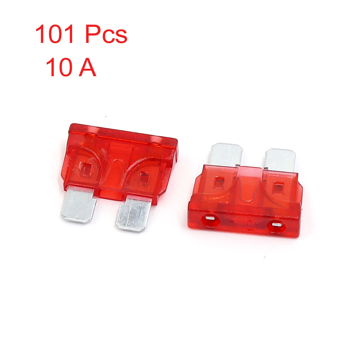 X Autohaux Auto Car Caravan Truck Suv Boat Atc Xenon Lamp Blade Fuses Red 40a 5pcs Auto Replacement Parts