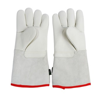 U.S. Solid 35 cm 13.8 Protective Gloves for Cryogenic Dewar Liquid Nitrogen Container yds 50b small capacity cryogenic liquid nitrogen tank