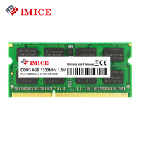 IMICE Notebook Memory DDR3 4GB 8GB 1333MHz 1600MHz PC3 10600S For Laptop Memoria Ram Notebook Memory