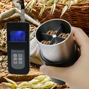 Image 3 - Digital 0 50% Grain Moisture Meter Tester Handheld Checker Cup Sensor for 36 Species w/ LED Indicator Seed Rice Coffee Soya