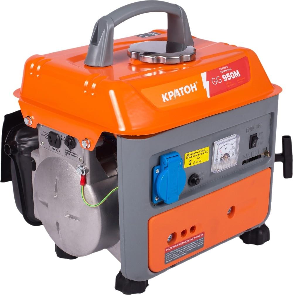 Gasoline generator KRATON GG-950M automatic 10kw avr hj10k220v b gasoline generator parts 5pcs lot free shipping