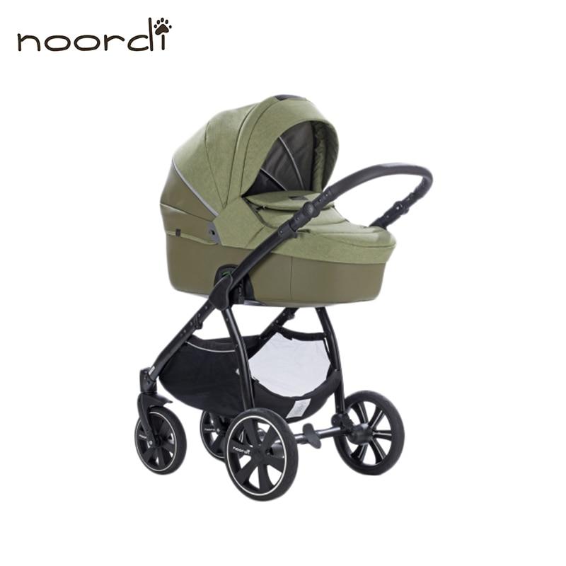Stroller baby Noordi Fjordi Melange Leather 2/1 SP коляска 2 в 1 noordi fjordi classic melange navy melange 891 1
