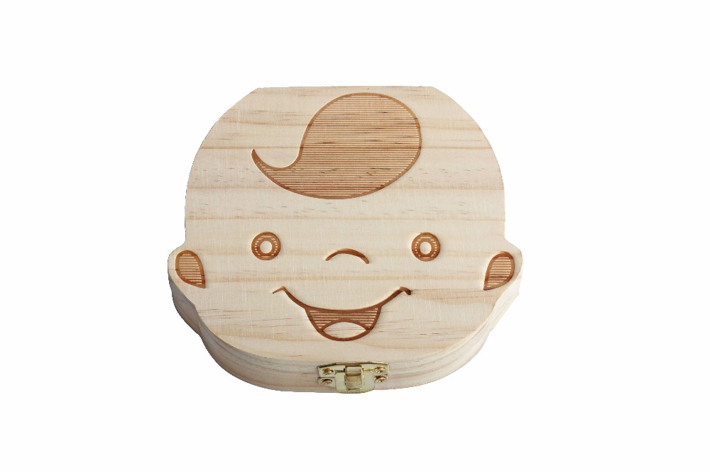 Creative-Gift-Wood-Baby-Girl-Boy-Tooth-Organizer-Boxes-Save-Deciduous-Teeth-Storage-Keepsakes-Collecting