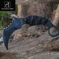 Тактический нож Karambit  охотничий нож для выживания на природе  2017  многофункциональные инструменты  D2 лезвие  охотничий нож в подарок