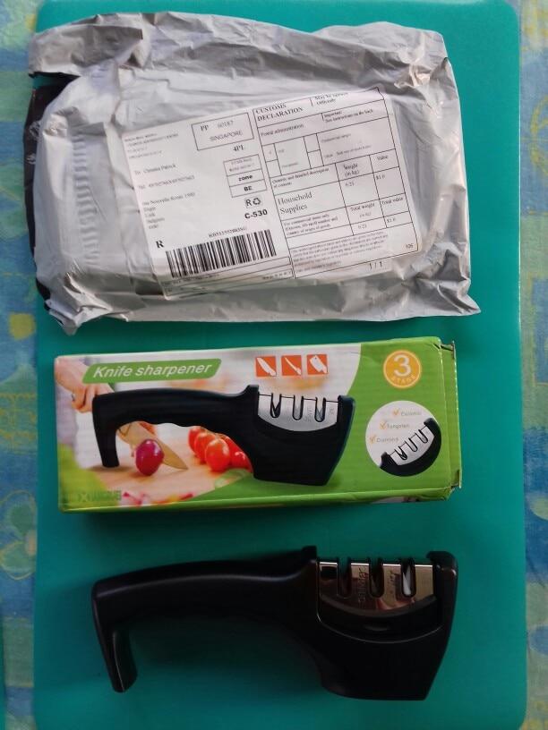 FHEAL Профессиональный Ножи точилка Нержавеющаясталь Керамика Ножи точильный камень Вольфрам Сталь Diamond точилка Кухня инструменты