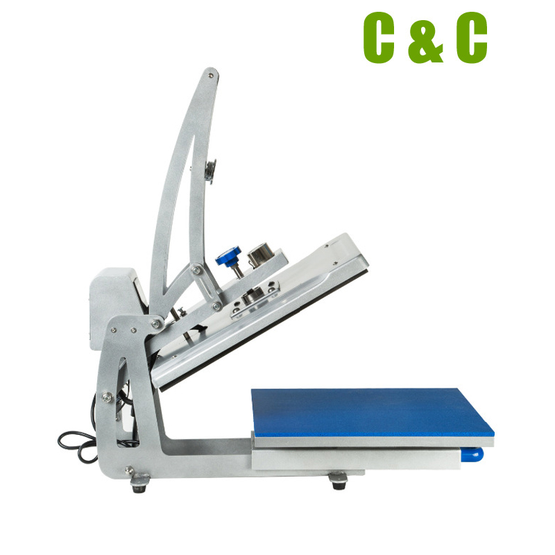 40x50cm 16x20 inch clamshell lcd controller slide out working table heat transfer printing press. Black Bedroom Furniture Sets. Home Design Ideas