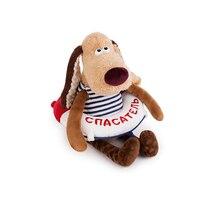 Мягкая игрушка Budi Basa Собака Жора-спасатель, 30 см