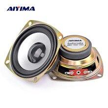 AIYIMA 2 шт. 3 дюйма аудио портативный динамик 4ohm 5 Вт полный диапазон Неодимовый твитер Altavoz KTV Профессиональный громкий динамик домашний кинотеатр
