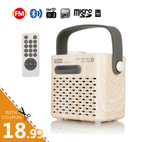 Instabox M80 Bluetooth FM Radio Mini Radio Portable USB AUX TF Card Reader Multi Function Loud Super Bass Stealth Antenna