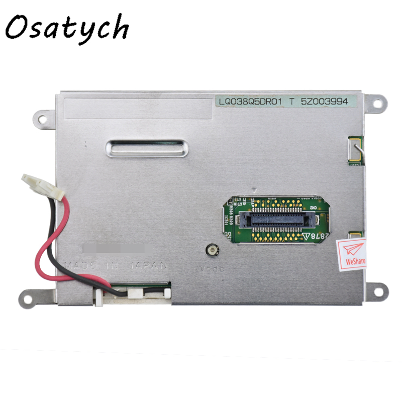 For SHARP 3.8 Inch LCD Screen Display Panel LQ038Q5DR01 Digitizer Monitor Replacement flat panel display