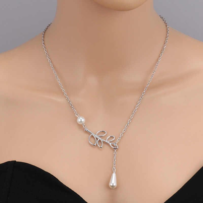 Nueva fiesta perlas Partido Simulado de moda para Perla de las mujeres de regalo boda Colgantes