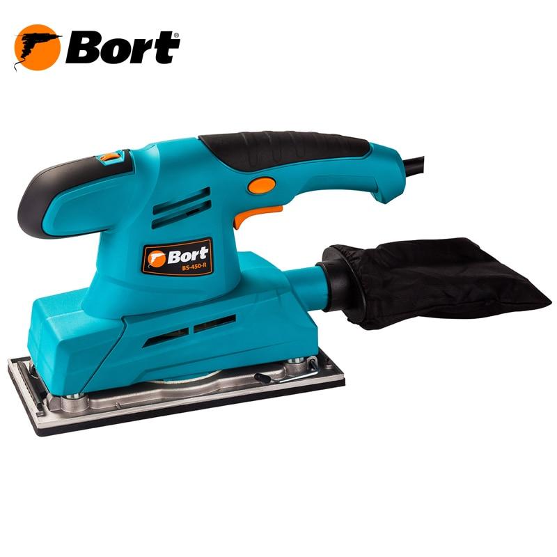 Machine grinding vibration Bort BS-450-R grinding machines orbital zubr sosm 450 125