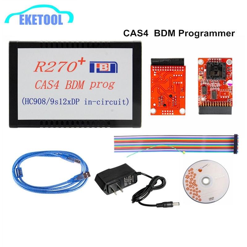 Best R270+ V1.20 Key Programmer For BMW CAS4 EWS4 BDM Programmer R270 Fits BMW Key Programming Free Shipping