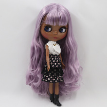 Factory Neo Blythe Doll Purple Hair Regular Body 30cm