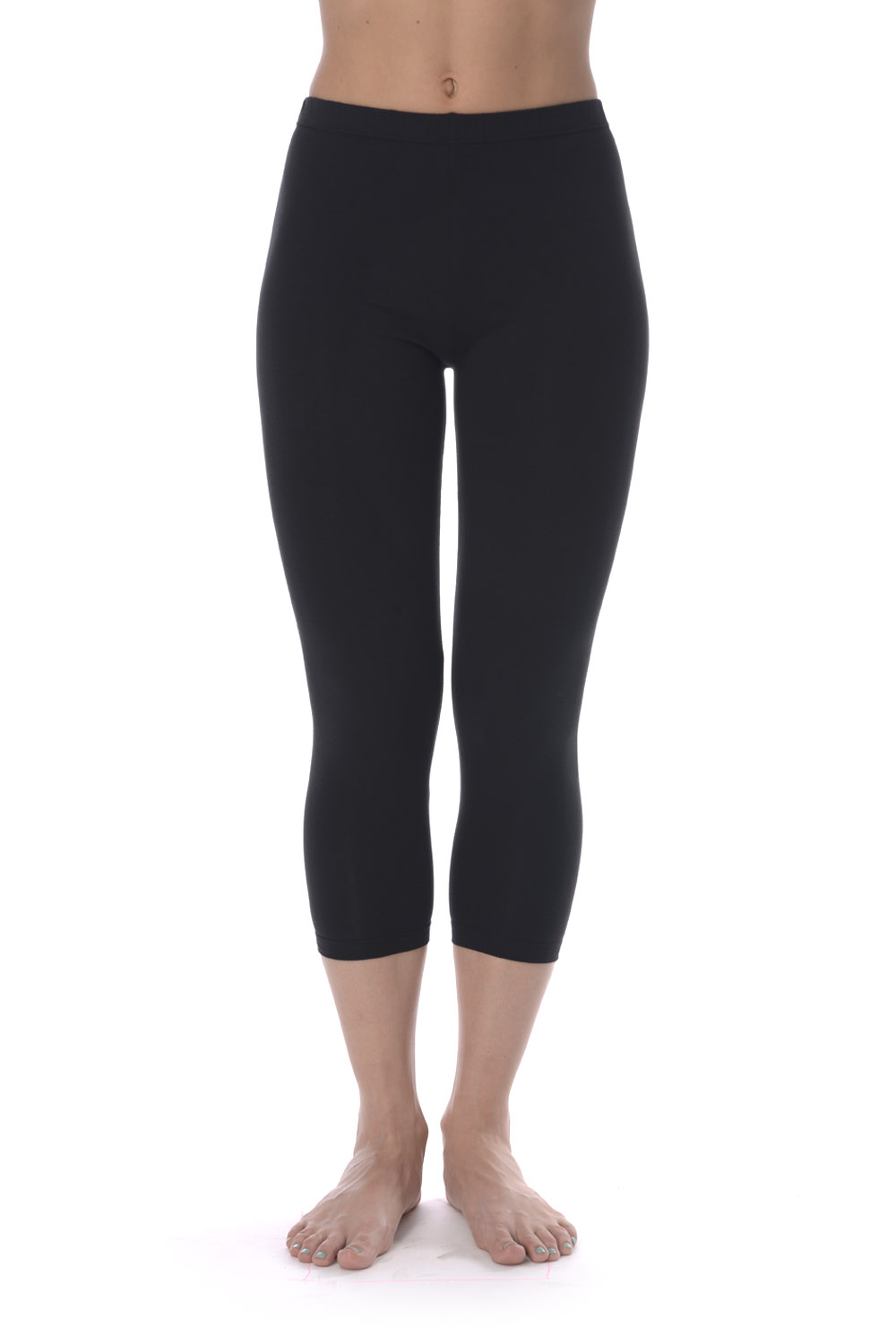 Leggings VIS-A-VIS SLL1002  Cotton Black TmallFS stirrup mesh leggings