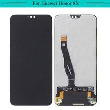 Testado para huawei honor 8x glória 8x JSN L21 6.5 Polegada display lcd do telefone móvel + montagem da tela de toque digitador frete grátis