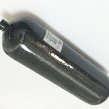 Acecare New design Black 9L 300bar 4500psi composite Aluminum Alloy Liner Carbon Fiber SCBA Tank SCUBA diving/PCP paintball  -V