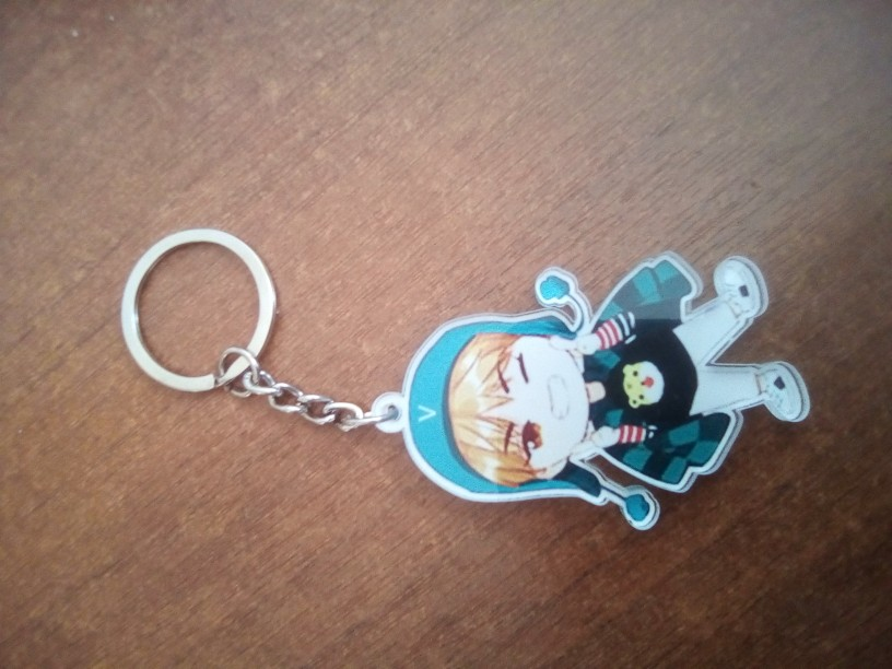 BT21 Bangtan Boys Key Chain photo review