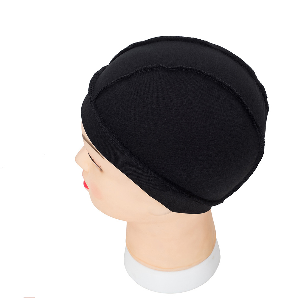 098b90f0b05 っ1pcs Wig Spandex Dome Cap For Wig Making In Hairnets Elastic Cap ...