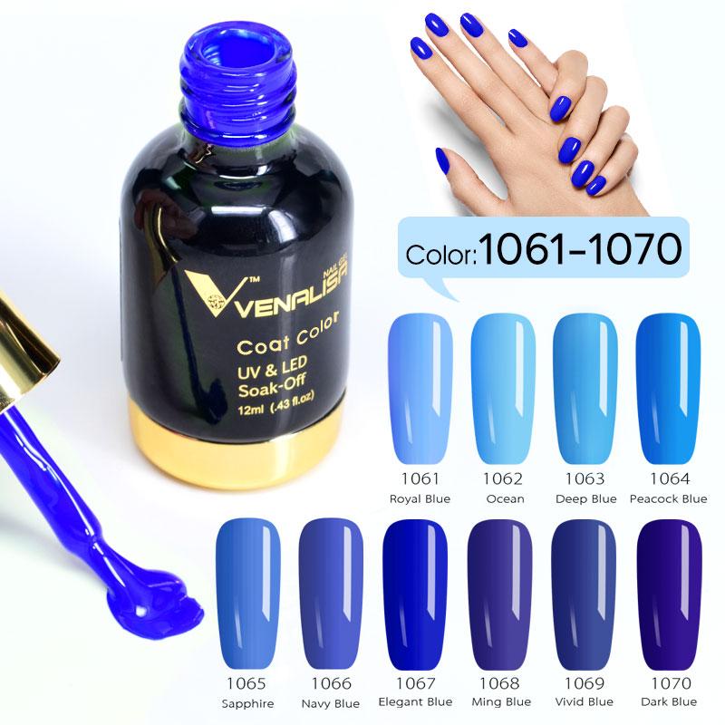 12pcs set VENALISA Nail Painting Gel Pure Color UV LED Gel Kits CANNI Factory Nail Art