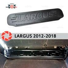 Магистральные Организатор для Lada Largus 2012-2018 пластик ABS коробка для хранения интерьера Тюнинг автомобилей аксессуары