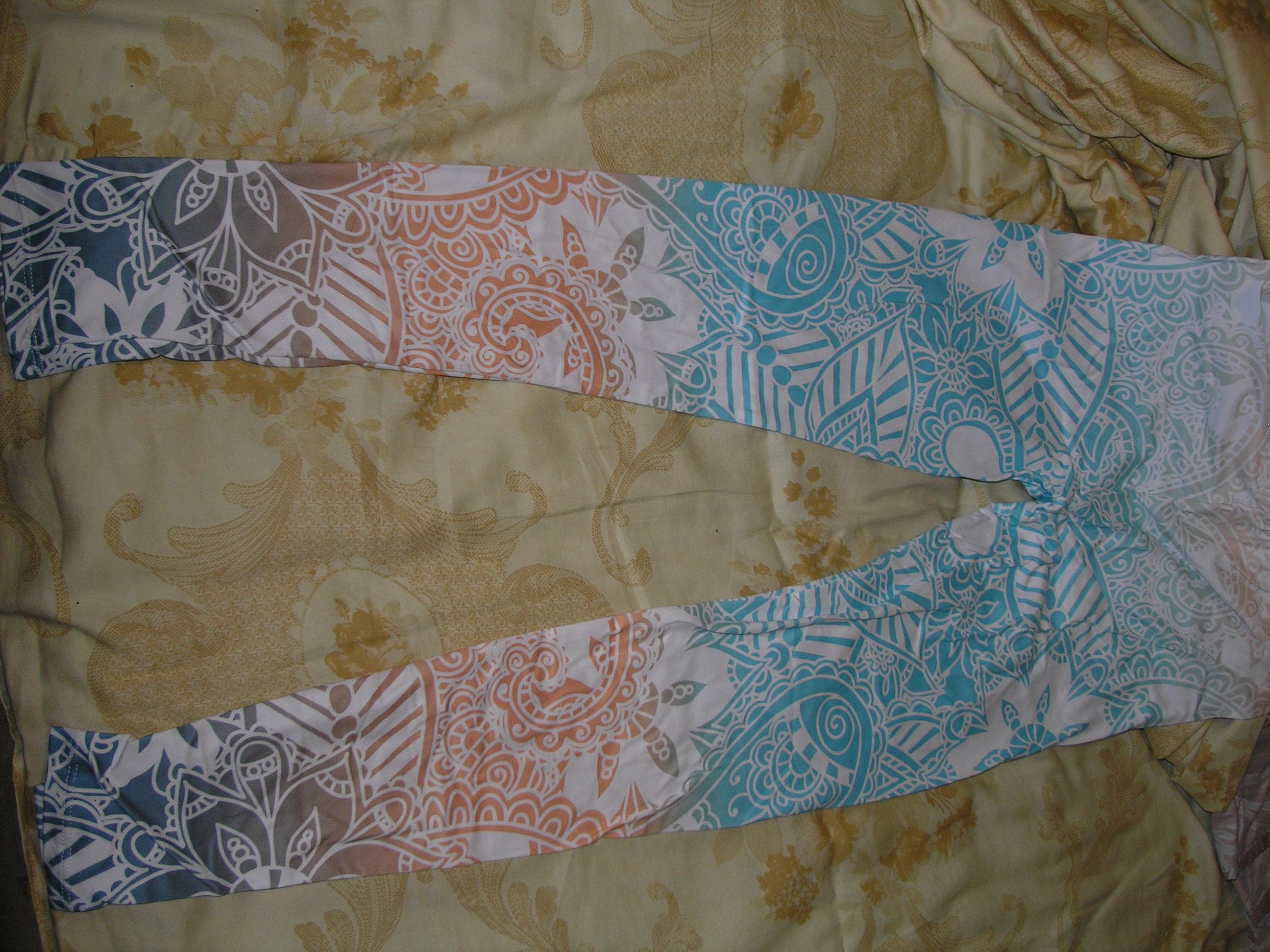 Zohra Brand Hot Sales Leggings Mandala Mint Print Fitness legging High Elasticity Leggins Legins Trouser Pants for women