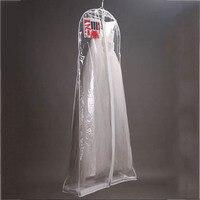 واضح غطاء تخزين أكياس الغبار كبير ثوب الزفاف الملابس 160/170/180 سنتيمتر