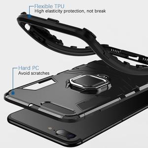 Image 3 - KISSCASE מקרה עבור Huawei Honor 10 6X 8X מקס שריון מקרי מחזיק טלפון כיסוי עבור Huawei Y9 2019 P20 P30 פרו לייט Coque