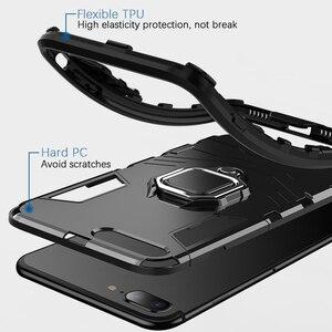 Image 3 - KISSCASE Per Il Caso di Huawei Honor 10 6X 8X Max Armatura Custodie Supporto Del Telefono Copertura Per Huawei Y9 2019 P20 P30 pro Lite Coque