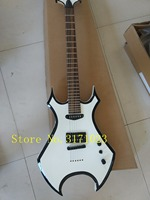 Free shipping 2017 NEW high quality B.C,Rich sigmature special Alien metallic White electric guitar in stock