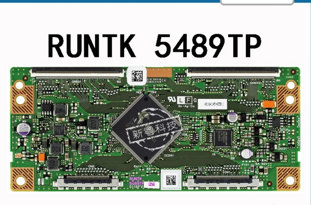 RUNTK 5489TP 0116FV 1P-013BJ00-4011 60A5M Logic Board For / Connect With T-CON Connect Board