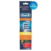 Сменные насадки для зубной щетки Oral-B Trizone, 4 шт.