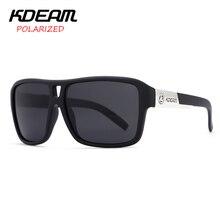 82bdf476c937f5 KDEAM Nouveau Miroir lunettes de Soleil Hommes Lunettes De Sport Femmes  Polarisées Grande Taille Lunettes de Soleil UV400 Protec.