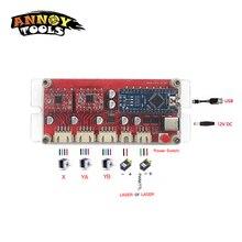 Motor-Controller-Board Laser Engraver Engraving-Machine Stepper CNC DIY USB 2-Axis S1