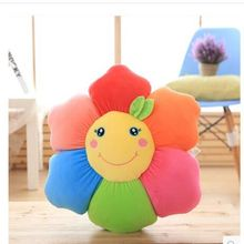 Software Down Cotton sunflower pillow cartoon cushion cute baby doll childrens plush toys