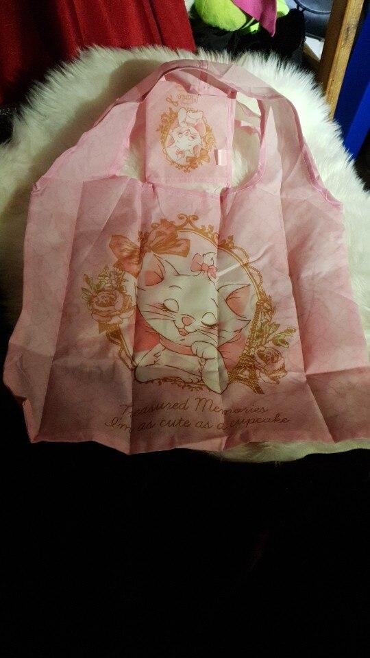 2019 Nylon Topstijl Mickey Donald Mary Cats Opvouwbare draagbare boodschappentas met milieuvriendelijke beschermingstassen Handtassen photo review