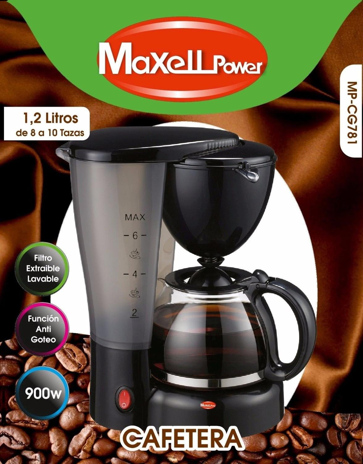 COFFEE DRIP ELECTRICA CAFE AMERICAN EXPRESS DRAW OUT 8 10 CUPS 1 2L MP CG781 Coffee Makers     - title=