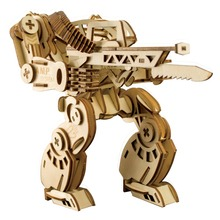 Toy gun AMP POWERSUIT model Kids toys 3D Puzzle wooden toys Wooden Puzzle Educational toys for Children Christmas Gift