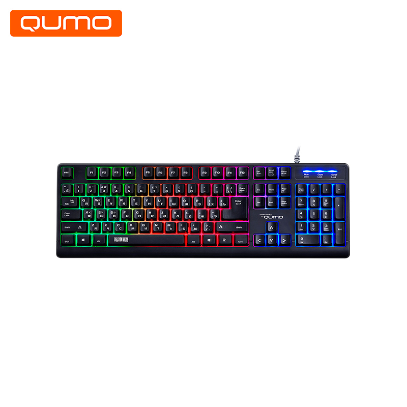 Gaming Keyboard Qumo Epic K42 gaming headset qumo champion ghs 0001