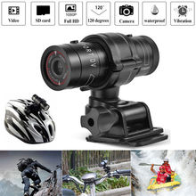 F9 Outdoor Sport Mini Camera HD 1080P 3MP Bicycle Helmet Vedio DV DVR Action Recorder Mini Camcorder Sport Micro Bike Camera original soocoo s20ws action camera waterproof 10m 1080p full hd bicycle cycling helmet mini outdoor sport column dv cam